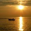 rybár na love