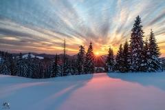 veľkonočný západ slnka II