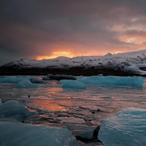 horiaci ľad