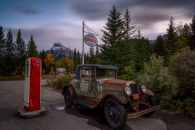na starej benzinke
