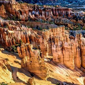 farebný Bryce Canyon