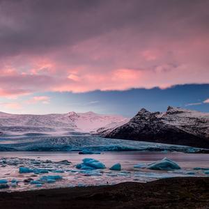 zamrznutá lagúna