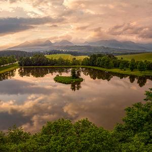 leto na rybníku