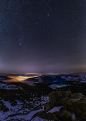 noc v Krkonošiach II
