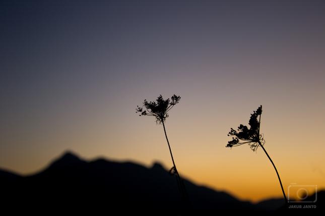 Západ slnka v Zázrivej