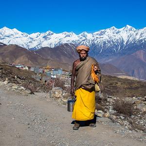 Sadhu, Muktinath, Nepal