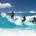 Surfer v akcii