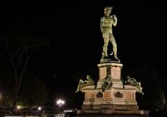 Socha Piazzale Michelangelo