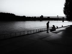 Večer pri Dunaji