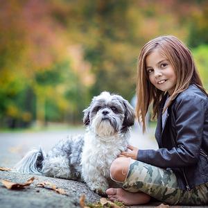 Saška a pes
