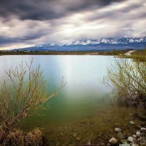 Jazero pod Tatrami