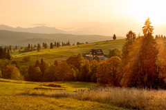 Domček v jeseni