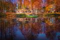 chalúpka v jeseni
