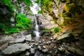 Lesný vodopád