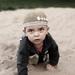 Viktor v piesku