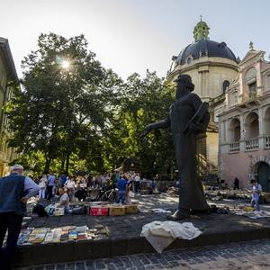 Ľvov - knižný trh