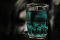 glass of poison