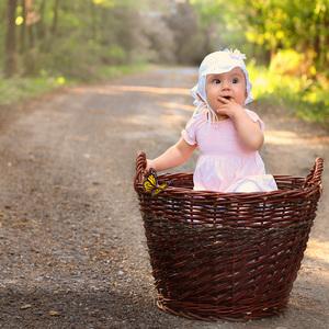...princezníčka v košíku...