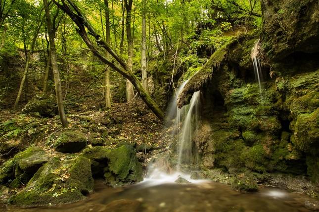 Stredný vodopád