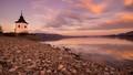 podvečer na Liptovskej Mare