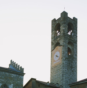 Podvečer v Bergamo
