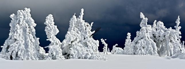 trocha snehu ešte