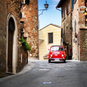 V talianskych uličkách
