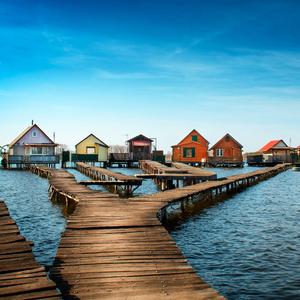 Dedinka na vode