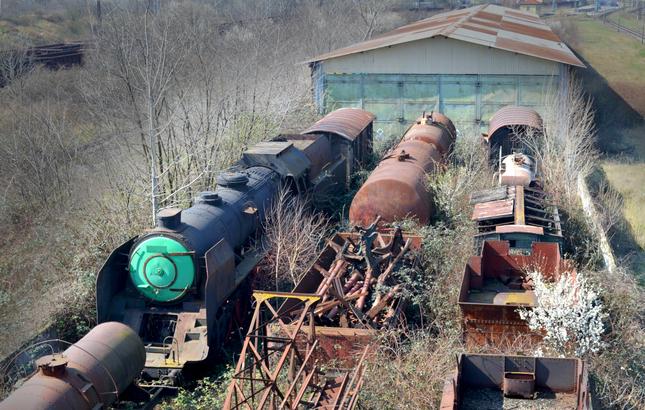 Cintorín železníc