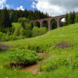 Viadukt nad Hronom