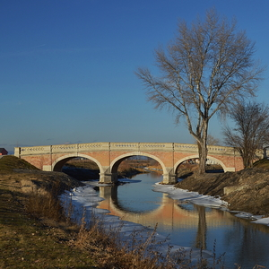 Most na konci zimy