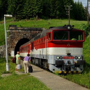 Prišiel nám vlak...