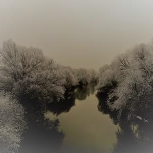 rieka Nitra pri lesoparku