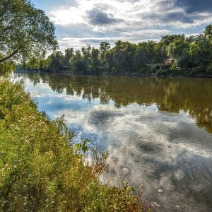 Zivot rieky Moravy