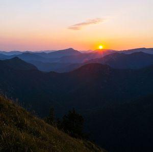 Východ slnka na Drienku