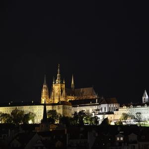 Nočná dominanta Prahy