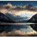 Alpské jazero...