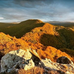 Jeseň v Strážovských vrchoch