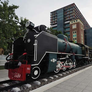 Mikado Steam Locomotive