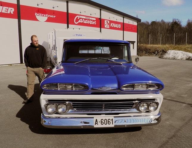Chevrolet apache 10 (1961?)