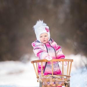 Zimný portrét