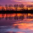 Predvianočný večer na jazere