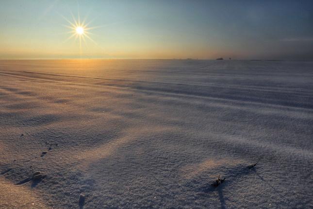Zima v rovine