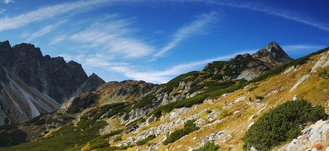 jesen v Tatrach