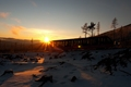 Zapad slnka na Hrebienku