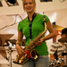 Matka Guráž - saxofonistka Mirka