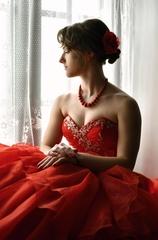 Tajomstvo v červenom šate