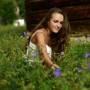 Kvetinka na lúke