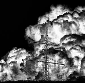 čierno-biela atomovka