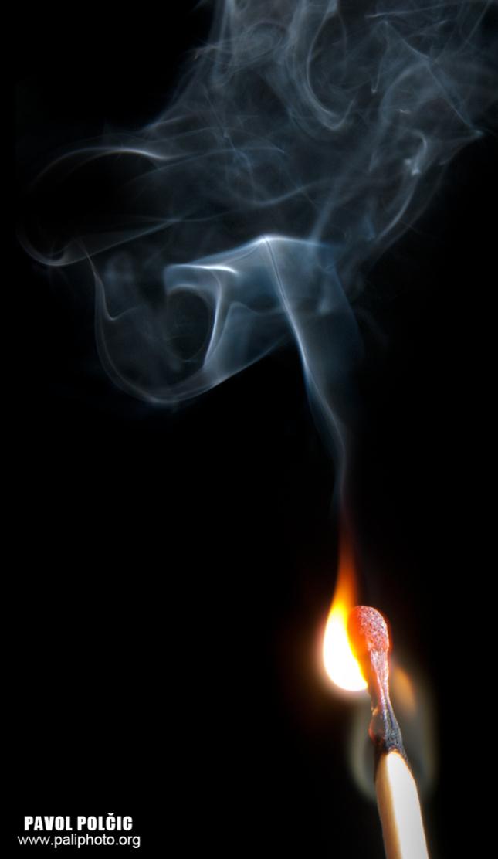 ....zapálená